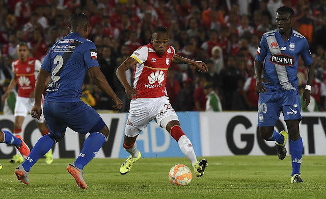 marcador final emelec vs santa fe copa sudamericana 2015