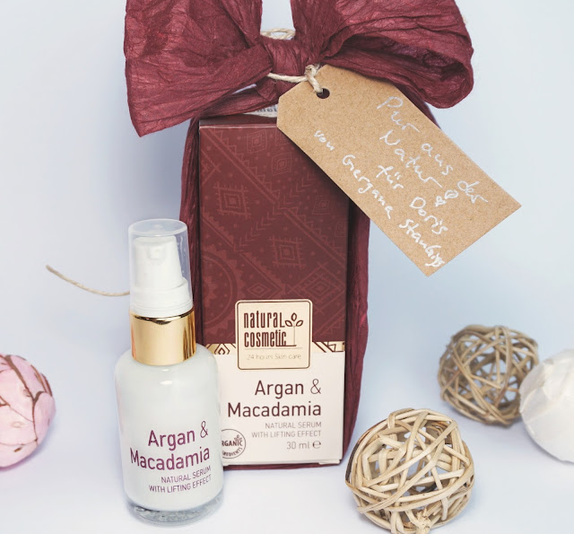 Natural Cosmetic - Argan & Macadamia Bio Lifting Serum Gesichtsserum