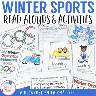 This is a Winter Sports and Winter Olympics themed pack that is perfect for kindergarten, first grade, and second grade classrooms to learn more about winter sports.