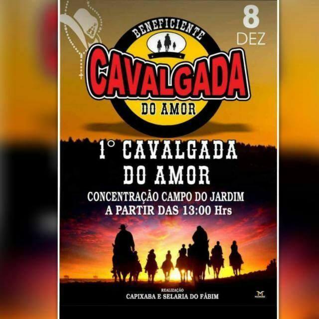 Cavalgada do amor em Guajará-Mirim