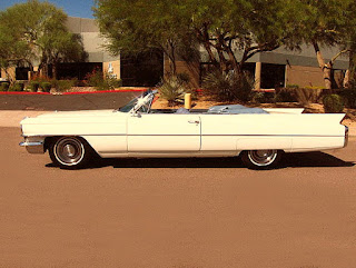 1963 Cadillac DeVille Convertible Side