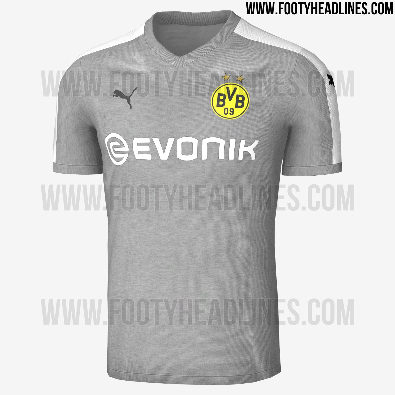 24f43b5e06e6f Terceira camisa do Borussia Dortmund deve ser toda cinza  confira as ...