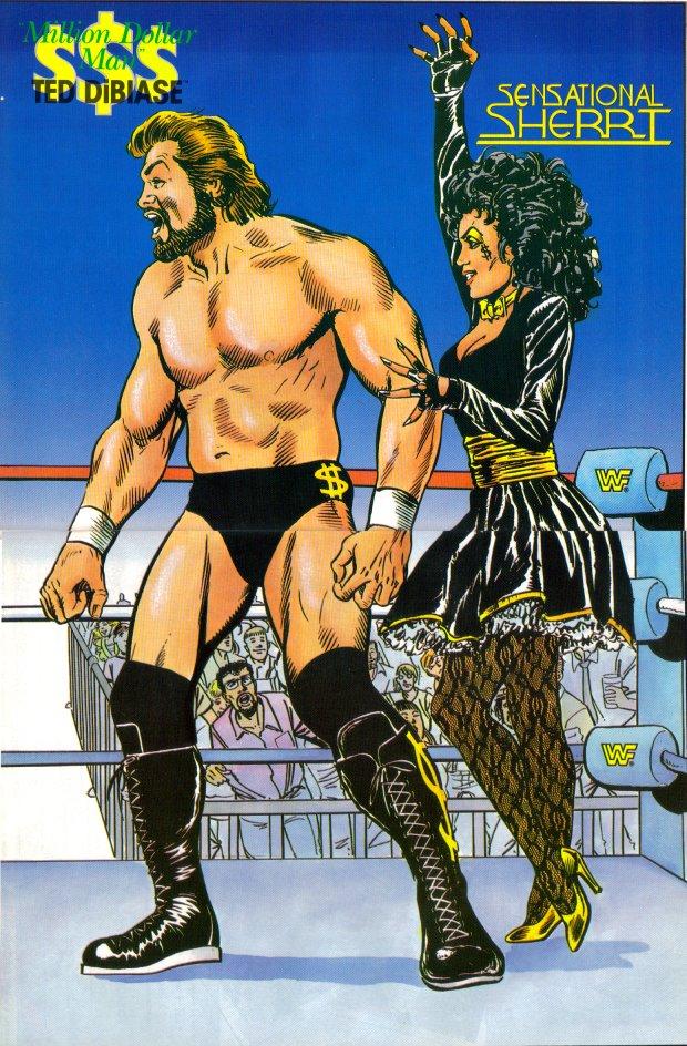AWESOME: WWE cartoon Ultimate Warrior Undertaker Bossman