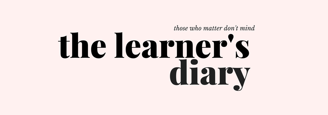 THE LEARNER'S DIARY