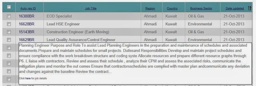Vacancies at AMEC - Engineering Consultancy and Project