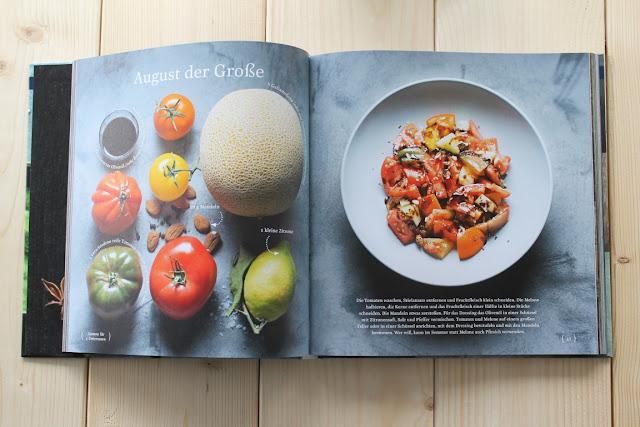 Easy Peasy Buchtipp Rezension Fruehjahr Callwey Verlag Jules kleines Freudenhaus Tomaten-Melonen-Salat