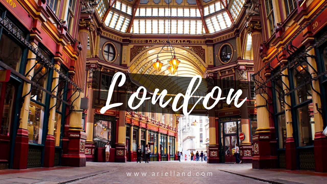 London in 24 Hours (Part I) | Ariel Land