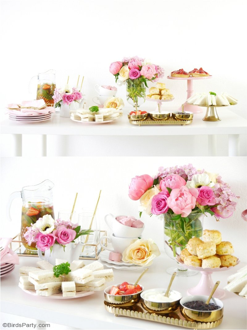 Styling A Pretty Royal High Tea Party Party Ideas Party