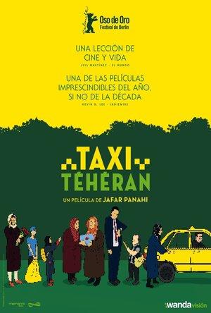 Poster Taxi Teherán 2015