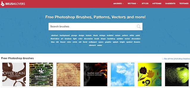 6 Situs Terbaik Untuk Download Brush Photoshop