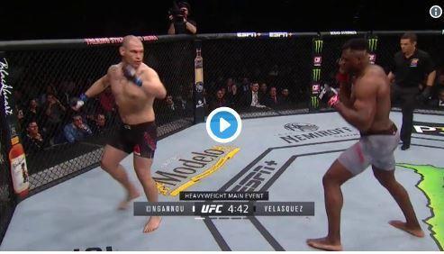 Vidéo - MMA: le camerounais Francis Ngannou met K.O son adversaire au premier round