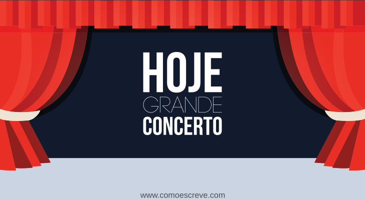 Concerto ou Conserto?