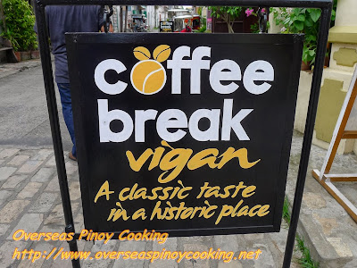 Coffee Break Vigan, A classic Taste in a Historic Place