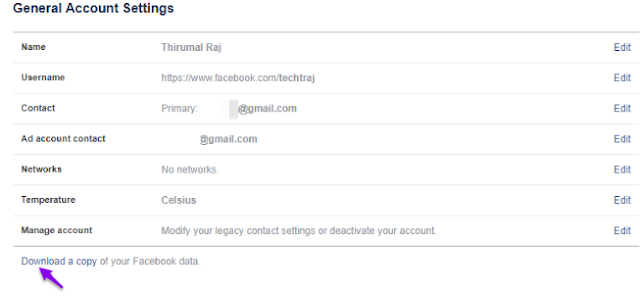Cara Mencadangkan Akun Twitter dan Facebook Anda 8