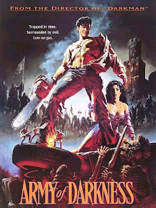 Poster Of Army of Darkness In Dual Audio Hindi English 300MB Compressed Small Size Pc Movie Free Download Only At worldfree4u.com