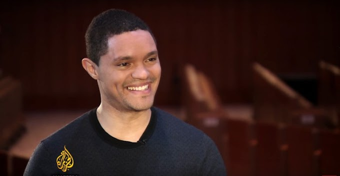 "Trevor Noah says ""Any leader tweeting policy is ridiculous"" on Talk To Al Jazeera"
