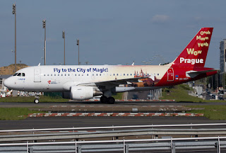 Airbus A319 of CSA Czech Airlines at Paris CDG
