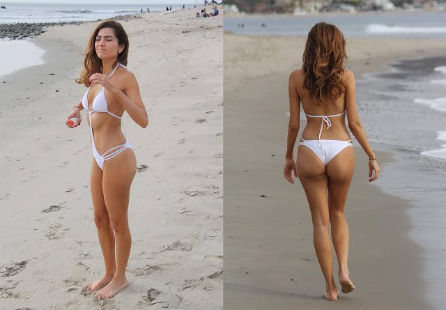 Blanca Blanco en bikini