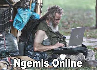 pengemis online