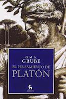 El pensamiento de Platon por G M A  Grube