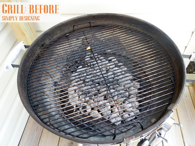 grill+before How to Clean Your Grill + $100 Lowe's Gift Card + Outdoor Cleaning Prize Pack GIVEAWAY! #giveaway #ad 24