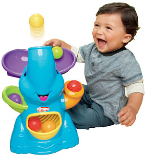 thanks to the playskool team baby girl will be getting one of these for christmas shell be about 11 months old so it is the perfect time for her to