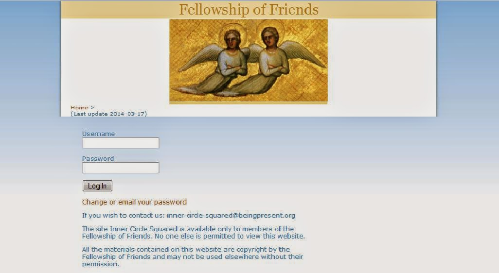 Propylaia - Robert Earl Burton's Fellowship of Friends cult member portal