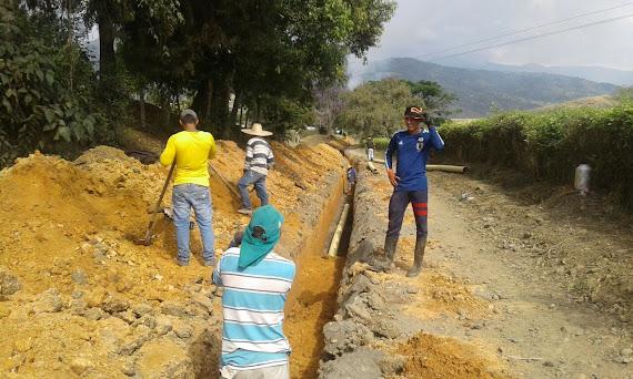 Construcción Alcantarillado Sanitario Parcelación San José