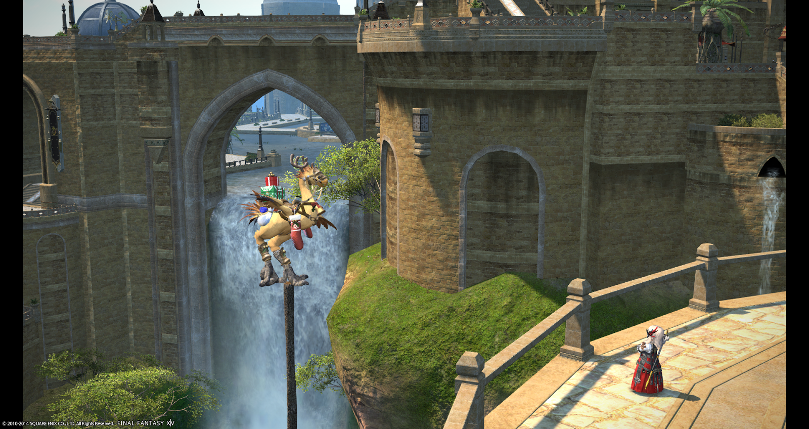 How to make a waypoint ffxiv