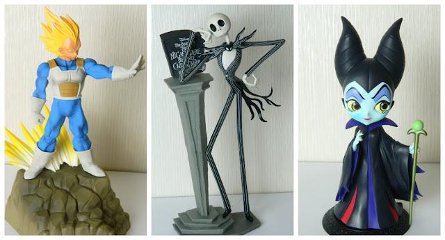 Japanese Banpresto Figures