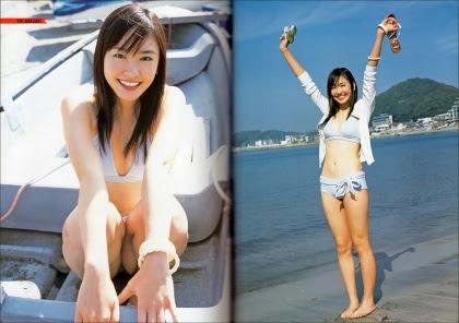 平田薫さんの水着