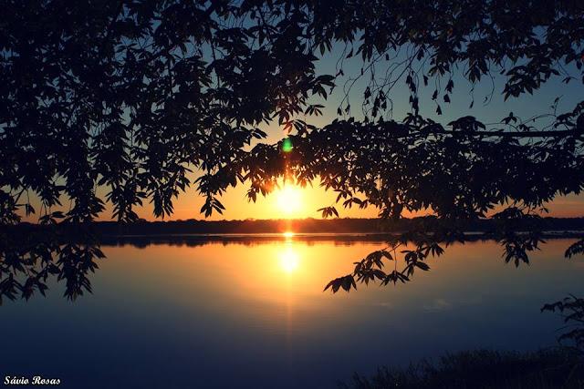 Por do sol rio madeira