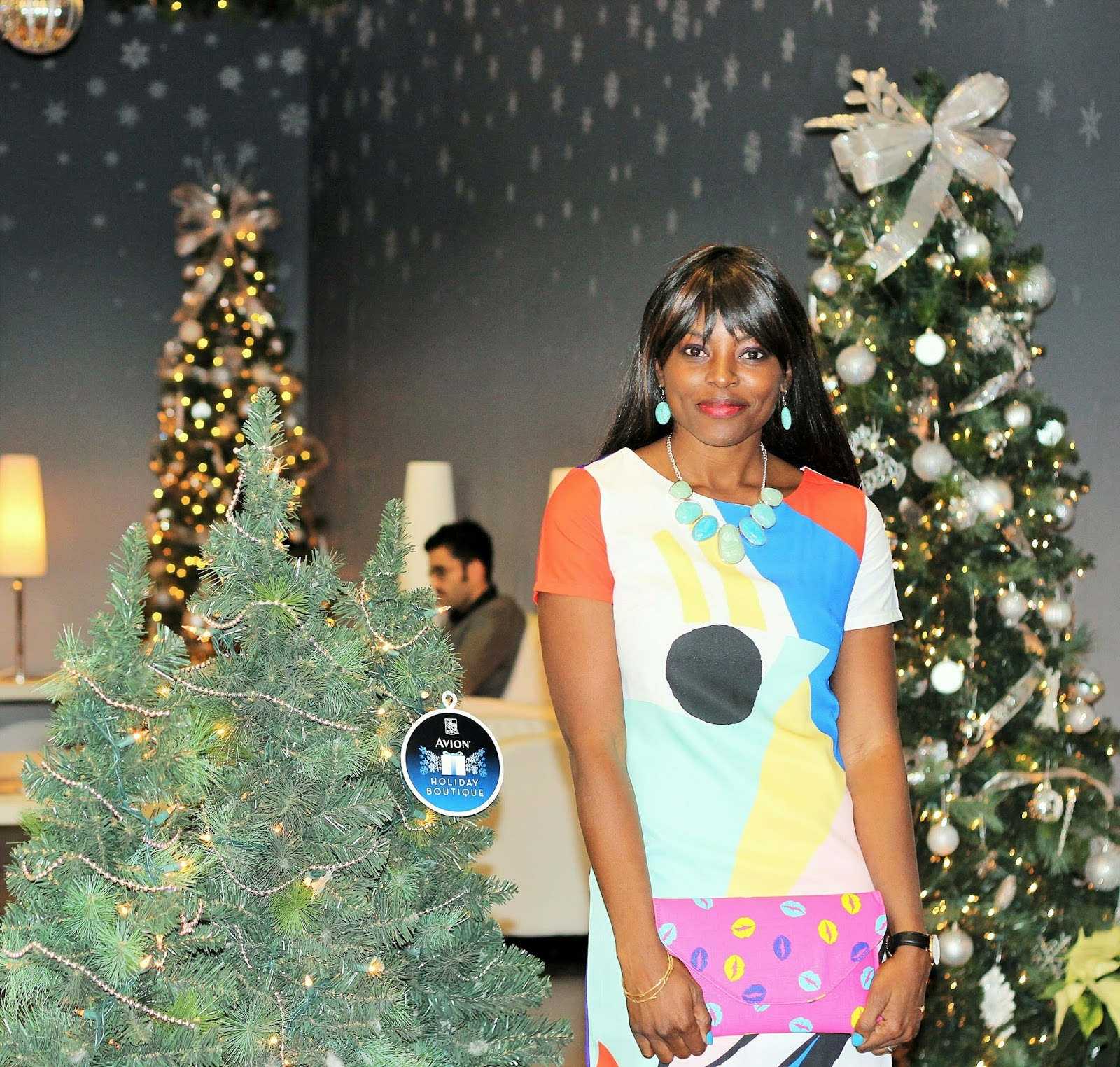 WHAT I WORE TO THE RBC AVION HOLIDAY BOUTIQUE EXPERIENCE LAUNCH #AvonVIP