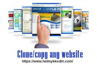 Mengatasi blog terkena clone dan copy