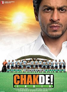 chak de india movie goofs