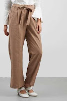 KUDO Celana Panjang Wanita Long Pant In Brown Colour ANDHIMIND