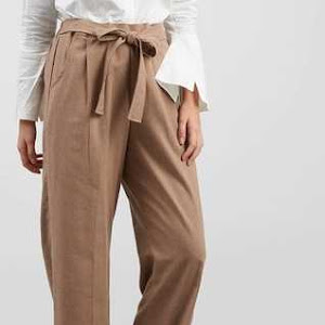 Celana Panjang Wanita Long Pant In Brown Colour