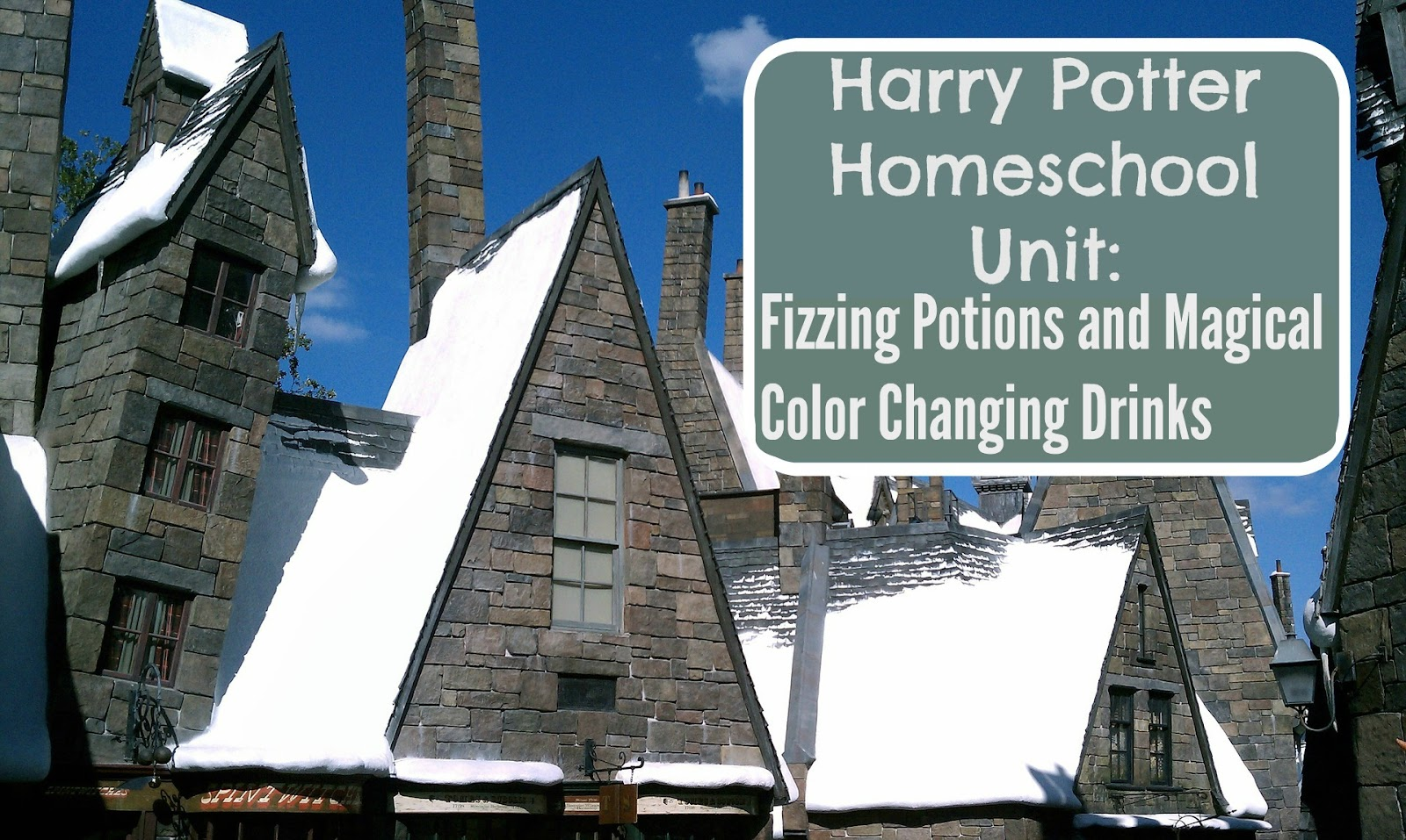 Harry Potter Fizzing Potions Lesson & More
