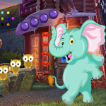 G4K Funny Elephant Rescue 2 Game