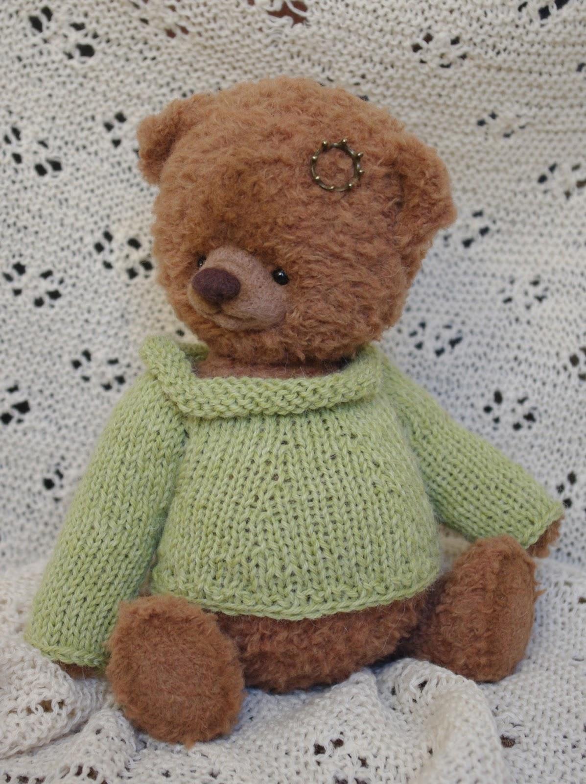 Вязаные Тедди Медведи