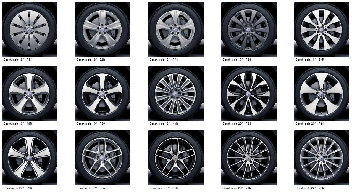 Mercedes GLC Coupè | Cerchi in lega originali Mercedes-Benz e prezzi