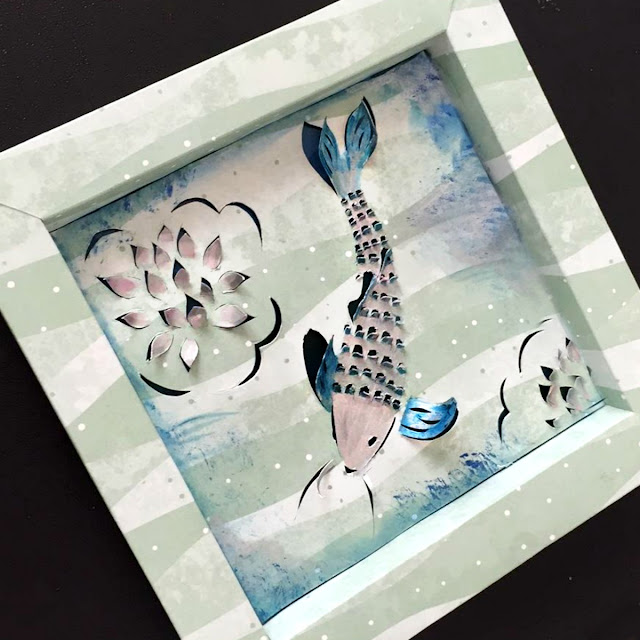 Cut Paper Art by Ombretta Fusco using Bobunny Weekend Adventures