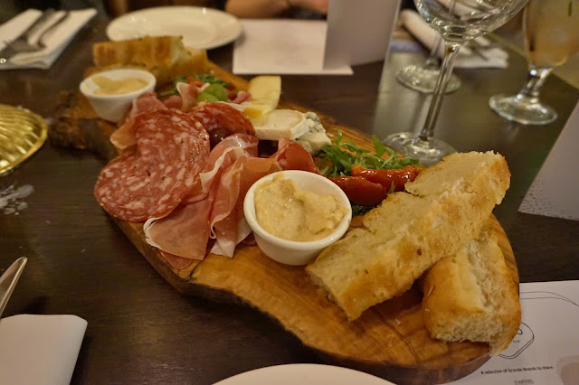 Gusto Leeds sharing plate