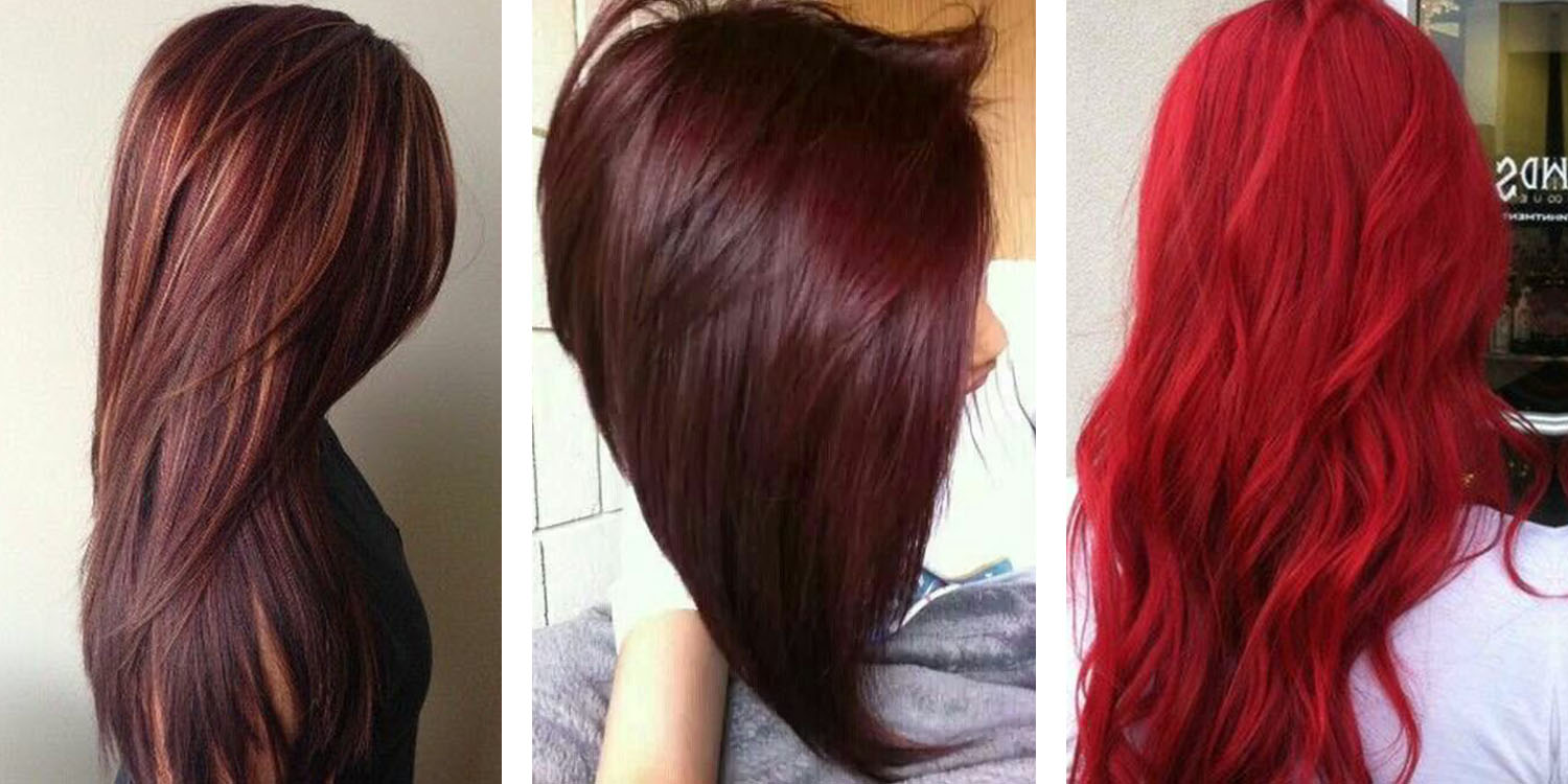 40 Bold Beautiful Bright Red Hair Color Shades Hairstyles