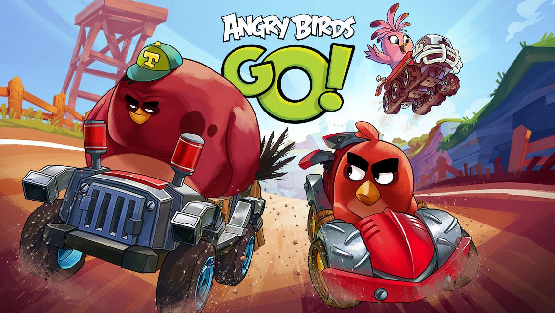 Angry Birds Go APK Mod v1.13.9+Data (Unlimited money, Offline)