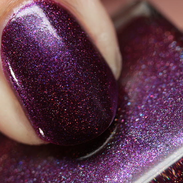 Supermoon Lacquer Purple Ghost