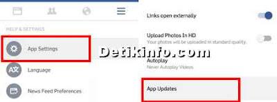 setting update fb agar tidak otomatis