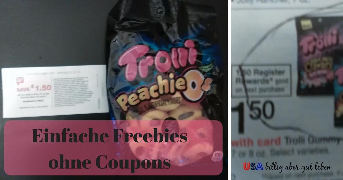 Freebies ohne coupons usa billig aber gut leben for Billig leben