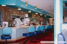 Disneyland Monorail Cafe