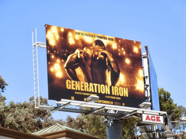 Generation Iron movie billboard